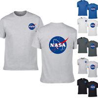 NASA Space Rocket Moon Men Women Short Geek Nerd Star Baseball T Shirt Tee Tops