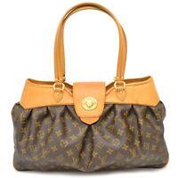 Authentic Louis Vuitton Monogram Shoulder Satchel Hand Bag Tote Boetie MM France