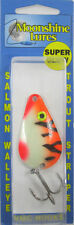 MOONSHINE LURES GLOW IN THE DARK CASTING SPOON 3/4 OZ. TANGERINE TIGER
