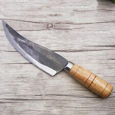 Chef Cleaver Handmade Boning Knife Split Meat Butcher Knife Forged Butcher knife