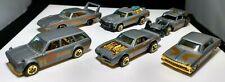 Hot Wheels Satin And Chrome Complete Set Of 6 Datsun Firebird Chevy El Camino