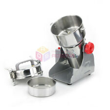 220V 600g Herb Grinder Coffee Beans Cereal Electric Powder Mill Flour Machine