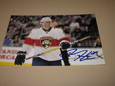 DRYDEN HUNT AUTOGRAPHED FLORIDA PANTHERS 4X6 PHOTO # 4