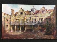 Vintage Postcard - Kent #67 - Knole - Sevenoaks - Salmon