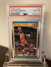 1988 Fleer Michael Jordan All Star PSA 8