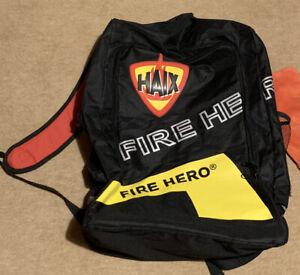 Haix Rucksack Interschutz 2015 Hannover ,,Hero's wear Haix,, Fire Hero, gebrauch