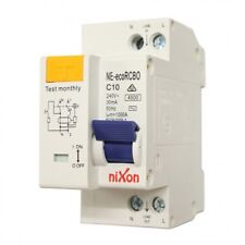 10AMP - economical RCBO Two Module 4.5kA Safety Switch Combined RCD + CB