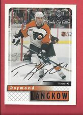 1999-00 Upper Deck MVP Stanley Cup Edition Silver Script 136 DAYMOND LANGKOW