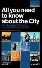 All You Need to Know About the City: Who Does What and Why in London's Financial