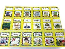 Jolly Phonics 18 Decodable Readers Yellow Level 2 (Grade 2) Complete Set Books