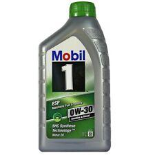 1 Liter Mobil 1 ESP 0W-30  Motoröl Porsche C30 Mercedes VW 50301 50700