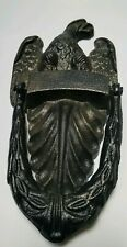 New! Heavy Antique Style EAGLE DOOR KNOCKER Black Metal