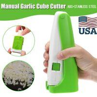 US Kitchen Hand Garlic Press Crusher Chopper Slicer Peeler Squeeze Cutter Ginger