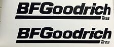 BFGoodrich Tires Vinyl Decal Sticker All Mud Terrain KO2 Rock Crawler Jeep 2x