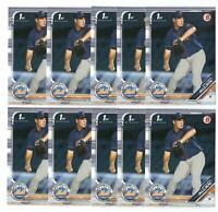 x500 MATTHEW ALLAN 2019 Bowman Draft #BD-48 Rookie Card RC lot/set New York Mets