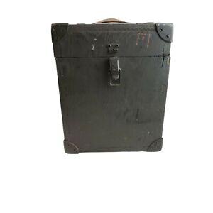 """Vintage Westinghouse Electric Corporation Original Wooden Box 8""""x10""""x7 1/4"""""""