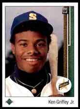 1989 Upper Deck Star Rookie Ken Griffey JR. #1