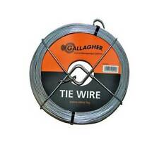Gallagher Galvanised Coated Tie Wire 2mm x 40m General & Electric Fencing *8199*