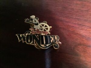 Disney DCL Wonder 2001 Steamboat Willie Mickey Pin