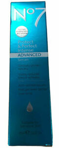 No7 Protect & Perfect Intense Sensitive Skin Advanced Serum 1oz. 30ml NEW IN BOX