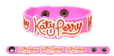 KATY PERRY Rubber Bracelet Wristband Pink