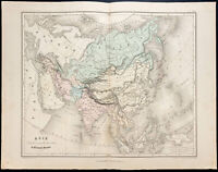 1878 - Plano De Asia - Por Meissas Y Michelot