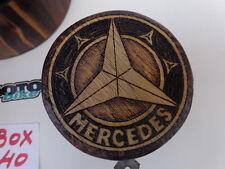 MERCEDES BENZ 3 WOODEN BOXES pyrography  (BOX 40)