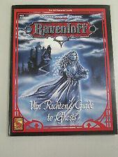 Van Richten's Guide to Ghosts Ravenloft Ad&d Rr5 Accesory 9355