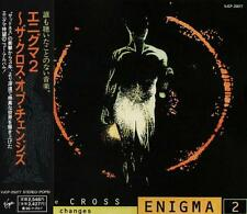 ENIGMA The Cross Of Changes FIRST JAPAN CD OBI VJCP-25077 Sandra Michael Kretu