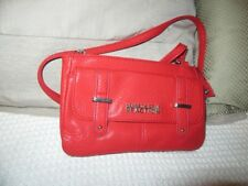 Kenneth Cole Reaction red shoulder bag. ex cond.  unused item.