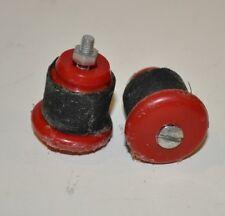 Tappi manubrio rossi red plast handlebar caps 50 campagnolo legnano bianchi