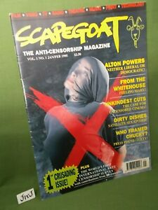 SCAPEGOAT THE ANTI-CENSORSHIP MAGAZINE VOL. 1  No. 1 JAN / FEB 1995