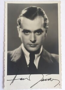 Hans Jaray +1990 signiert Film TV Karte ORIGINAL Unterschrift Signatur Autogramm