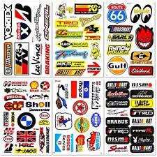 Car Auto Truck BMW Mopar Nascar Drag Racing D6096 Pack 6 Vinyl Decals Stickers