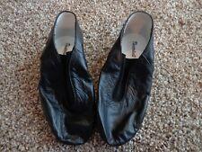 THEATRICALS girl's NEW sz 10 Gore Top black jazz shoes T7900C