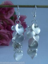 Mode-Ohrschmuck im Hänger-Stil aus Metall-Legierung Perlen