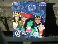 "MARVEL LEGENDS TRU EXCLUSIVE A-FORCE HEROINES 6 ACTION FIGURE SET ""NEW"""