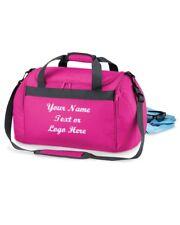 Personalizado Bolsa De Viaje Bolsa De Viaje Gimnasio Kit Mini su nombre Lema Chicas Sports Team