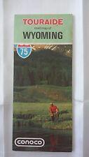 1974 TOURAIDE Road Map of WYOMING