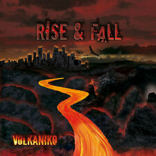 Volkaniko Rise & Fall Rare CD - tribute to Jean Michel Jarre and Tangerine Dream