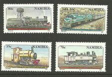 Namibia - 100 Jahre Eisenbahn 1995 postfrisch Mi. 784-787