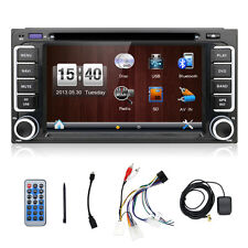 DOUBLE 2DIN CAR STEREO RADIO FOR TOYOTA BLUETOOTH NAVI GPS MP5 MP3 AUX