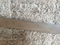 "Parting Off Tool Blade, J &S  7/8"" X  .131"" X   5"""