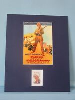 Fess Parker as Davy Crockett , King of the Wild Frontier & the Walt Disney stamp