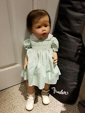 """SMALL TODDLER """"ARIEL"""" BY JOANNA KAZMIERCZAK LE 25 INCH STANDING BABY-VERY RARE"""