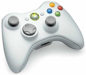 Xbox360 Controller Originale Bianco Nuovo Senza Scatola