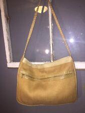 RARE VTG Bottega Veneta Woven Raffia Leather Hobo Bag Shoulder Cross Body 293a1caf16
