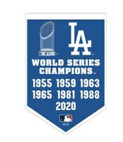 Los Angeles Dodgers World Series Champions Collectors Magnet