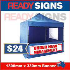 UNDER NEW MANAGEMENT - Banner Sign - 1300mm x 330mm - Australian Made UNM 130010