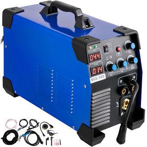 3 in 1 MIG Welder Welding Machine MIG-160 MIG MMA TIG IGBT DC Inverter Welder